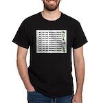 No more hostas Dark T-Shirt