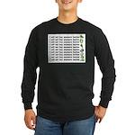 No more hostas Long Sleeve Dark T-Shirt