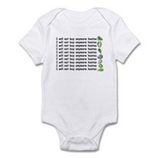 No more hostas Infant Bodysuit