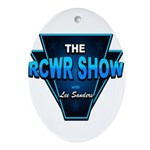 The RCWR Show Classic Logo Oval Ornament