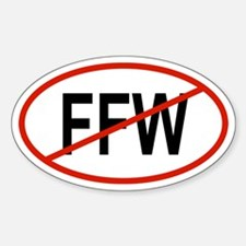 FFW Oval Decal
