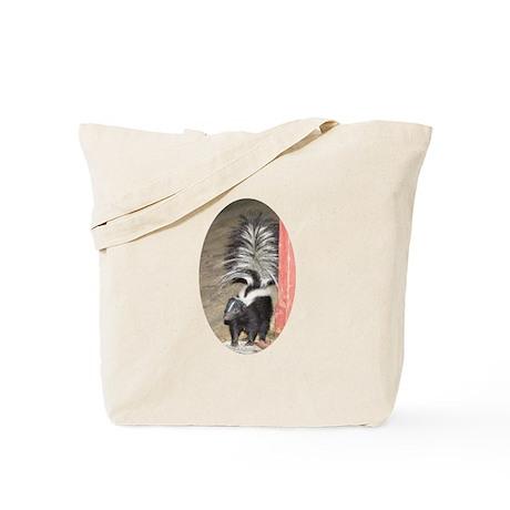 Little Skunk Big Tail Tote Bag