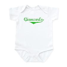 Giancarlo Vintage (Green) Infant Bodysuit
