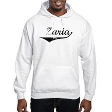 Zaria Vintage (Black) Hoodie Sweatshirt