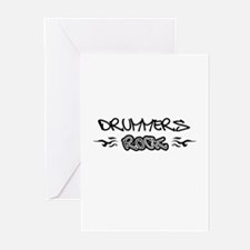 Drummers Greeting Cards (Pk of 10)