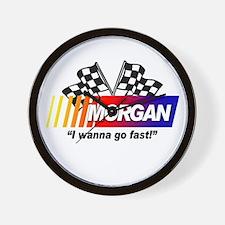 Racing - Morgan Wall Clock