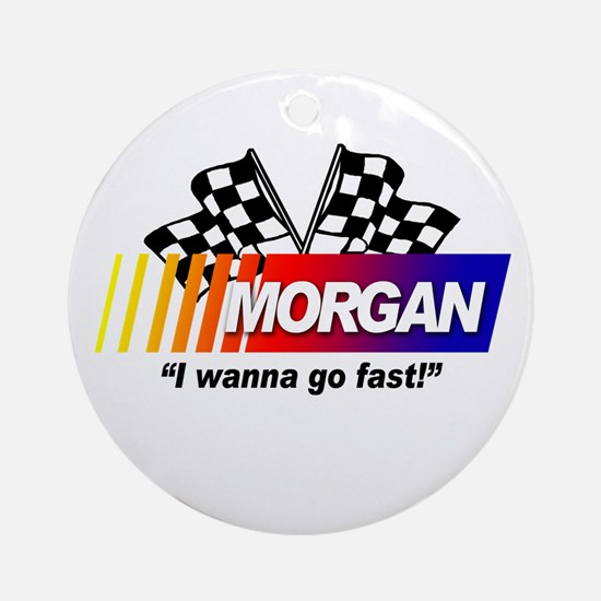 Racing - Morgan Ornament (Round)