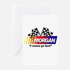 Racing - Morgan Greeting Cards (Pk of 10)