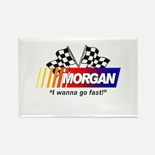 Racing - Morgan Rectangle Magnet