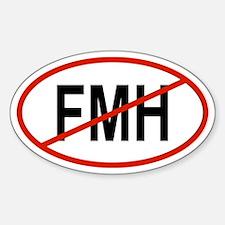 FMH Oval Decal