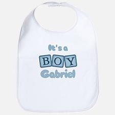 It's A Boy - Gabriel Bib