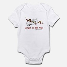 Westhighland Terrier Holiday Infant Bodysuit