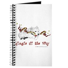 Westhighland Terrier Holiday Journal