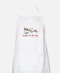 Westhighland Terrier Holiday BBQ Apron