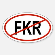 FKR Oval Decal