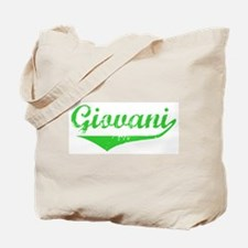Giovani Vintage (Green) Tote Bag