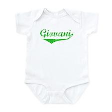 Giovani Vintage (Green) Infant Bodysuit