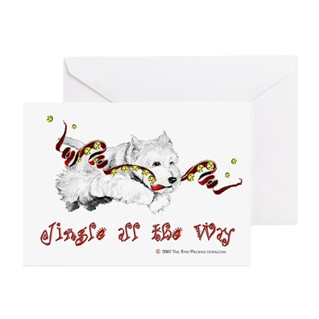 Westhighland Terrier Holiday Greeting Cards (Pk o