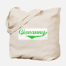 Giovanny Vintage (Green) Tote Bag