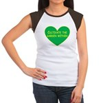 Cultivate the garden within Women's Cap Sleeve T-S