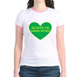 Cultivate the garden within Jr. Ringer T-Shirt