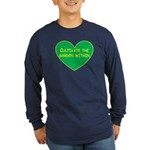 Cultivate the garden within Long Sleeve Dark T-Shi