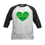 Cultivate the garden within Kids Baseball Jersey