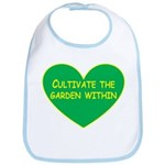 Cultivate the garden within Bib