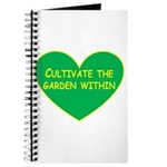 Cultivate the garden within Journal
