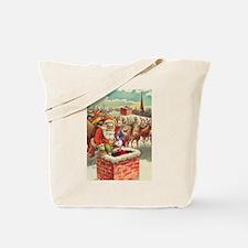 Santa's Helper Possum Tote Bag