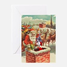 Santa's Helper Possum Greeting Card