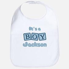 It's A Boy - Jackson Bib