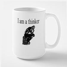 I am a thinker Ceramic Mugs