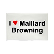 Maillard Reaction Rectangle Magnet