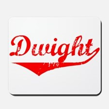 Dwight Vintage (Red) Mousepad