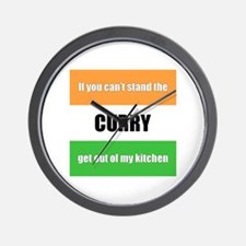 Cooking with Curry Wall Clock