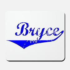 Bryce Vintage (Blue) Mousepad