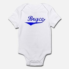 Bryce Vintage (Blue) Infant Bodysuit
