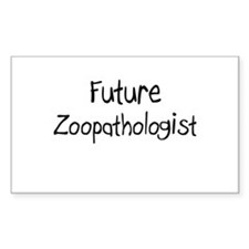 Future Zoopathologist Rectangle Decal
