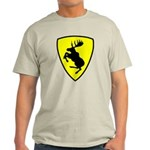 Light Color T-Shirt, 10 inch moose