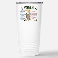 Cute Funny yorkshire Thermos Mug