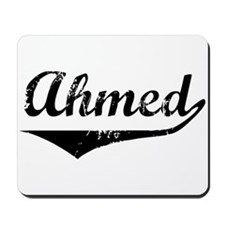 Ahmed Vintage (Black) Mousepad