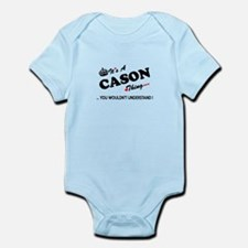 CASON thing, you wouldn't understand Body Suit