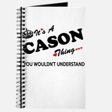 CASON thing, you wouldn't understand Journal