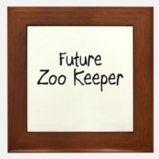 Future Zoo Keeper Framed Tile