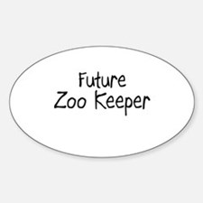 Future Zoo Keeper Oval Decal