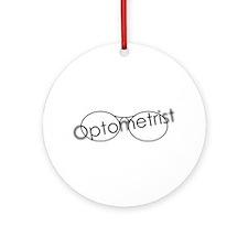 Optomitrist Ornament (Round)