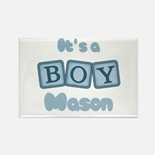 It's A Boy - Mason Rectangle Magnet (10 pack)