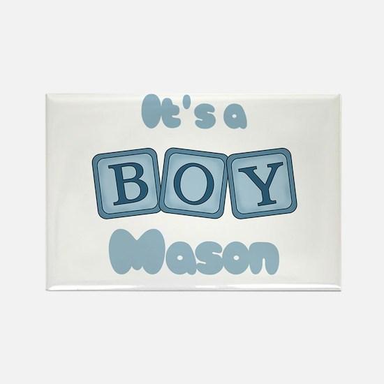 It's A Boy - Mason Rectangle Magnet (10 pack)