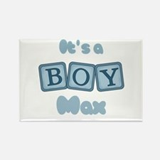 It's A Boy - Max Rectangle Magnet